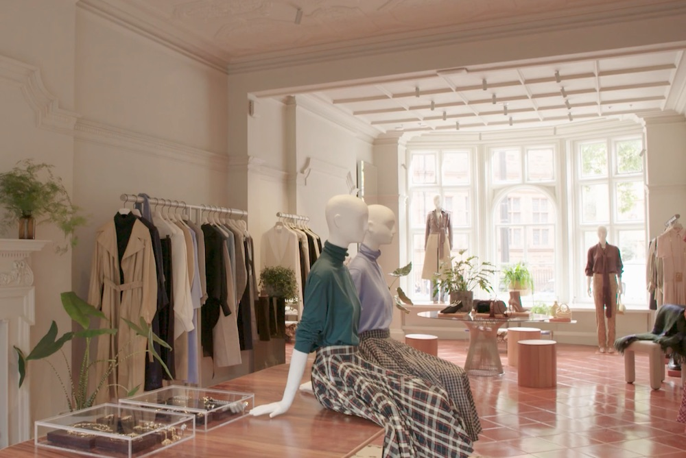 Luxury E-Tailer Opens Immersive London Store Providing Shoppers With Personal Stylists