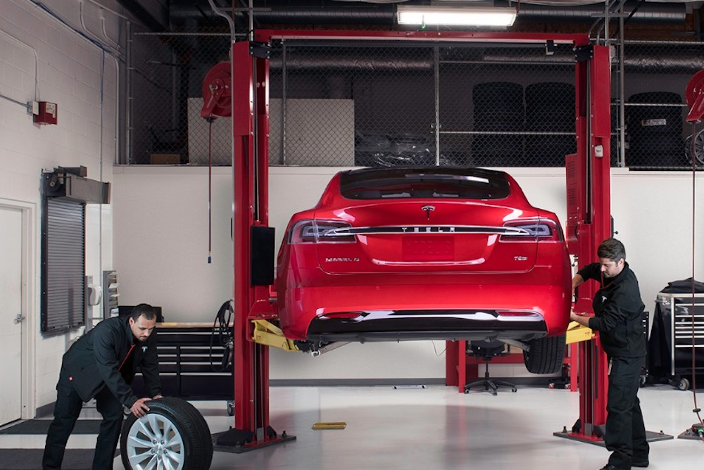 Tesla Owners Can Have Their Vehicle Repaired At Brand's Own Auto Shops