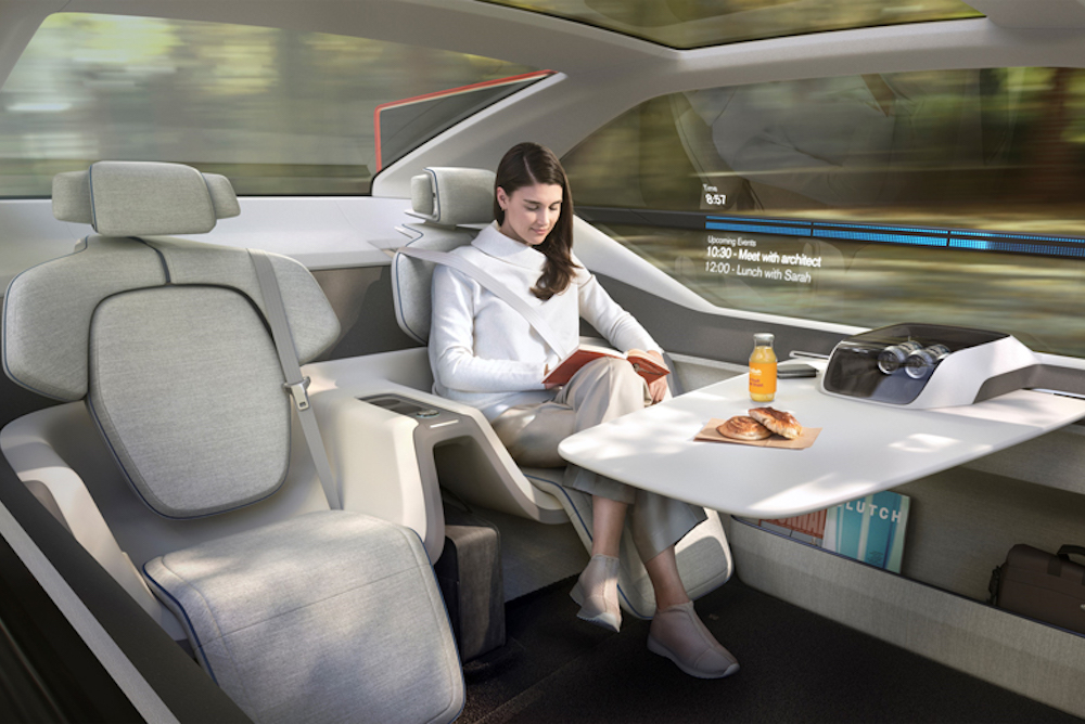 Volvo Offers Drivers An Autonomous Vehicle Alternative To Air Travel