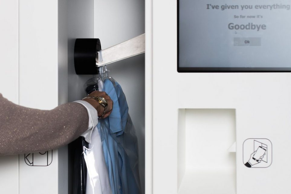 Dry Cleaning Start-Up Targets On-The-Go Consumers With Drop-Offs Located In Transportation Hubs