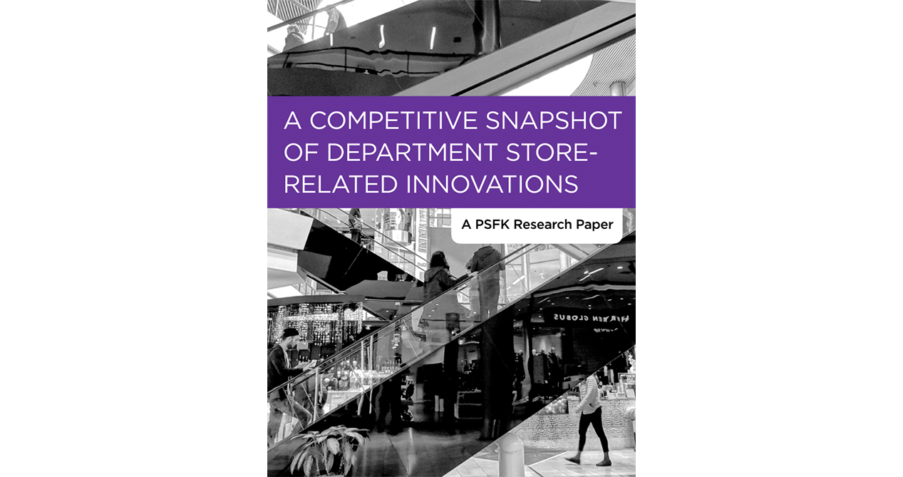 A Competitive Snapshot Of Department Store-Related Innovations