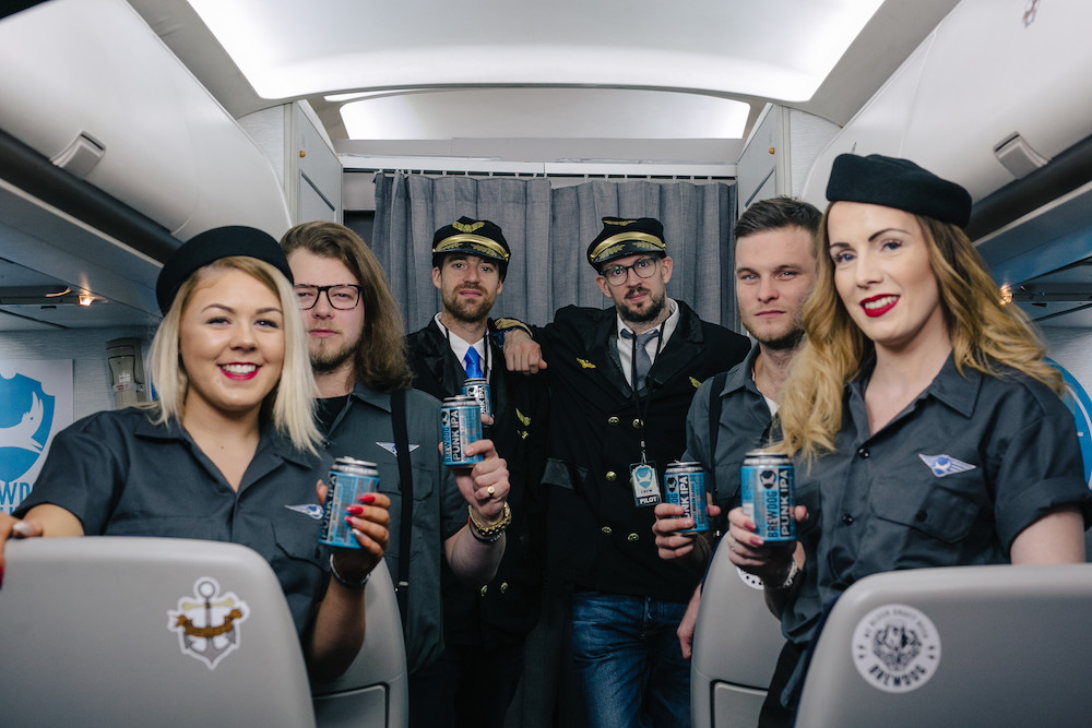 BrewDog Offers Customers All-Inclusive Trip On Its Craft Beer Airline