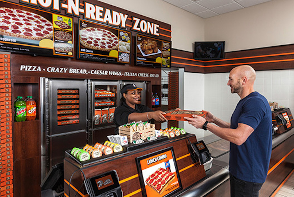 Little Caesars Patrons Can Pick Up Their Pizzas From In-Store Lockers
