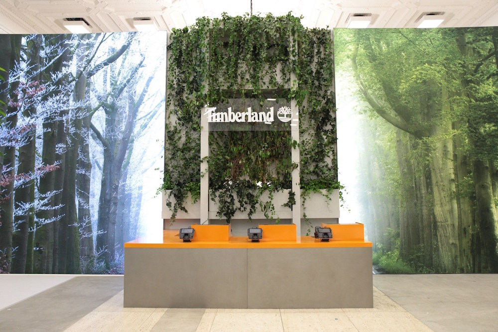 Timberland's Fifth Avenue Space Offers Visitors Immersive Snow Globe And Rain Room
