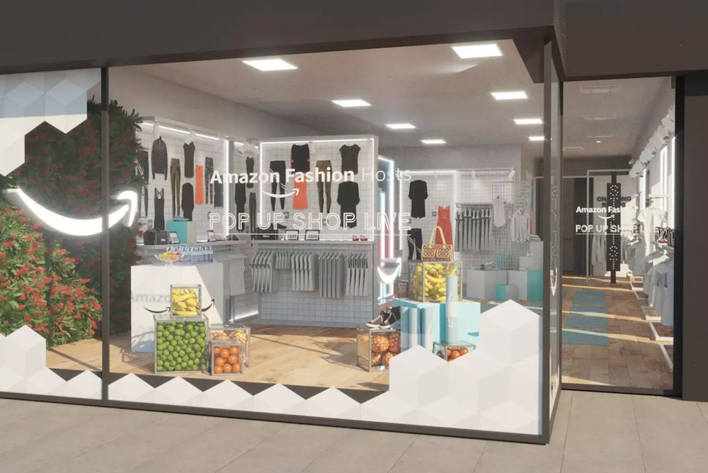 Amazon Fashion Offers London Shoppers Outpost Of Rotating Fashion Brands