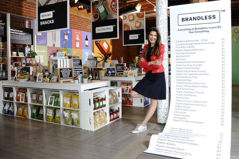 New York Brandless Pop-Up Will Feature Everything From Tasting Flights To A Clean Beauty Lounge