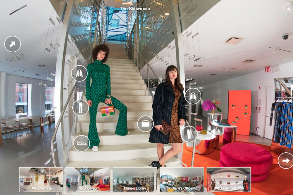 Diane von Furstenberg 3D Experience Transports Shoppers To Company Headquarters
