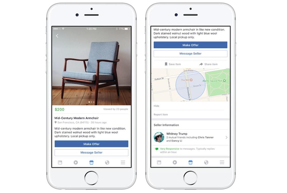 Facebook Marketplace Introduces AI Capability To Facilitate Vendors' Sales