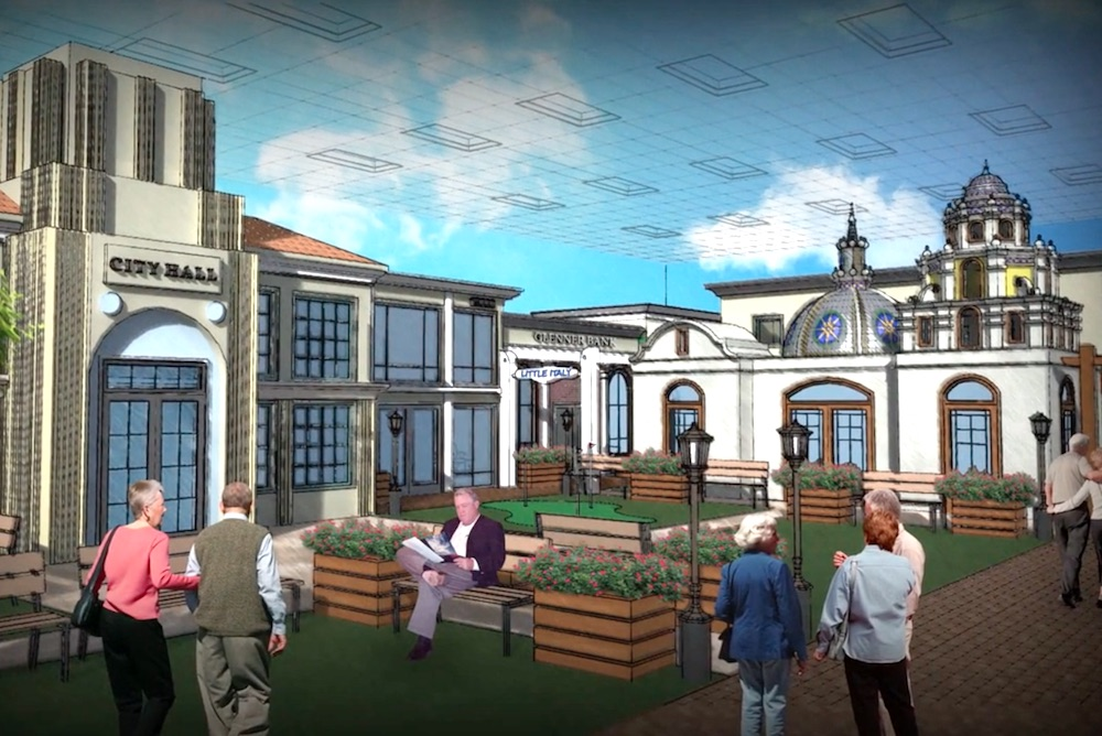 Alzheimer's Center Creates 1950's-Themed Town To Improve Patient Cognition
