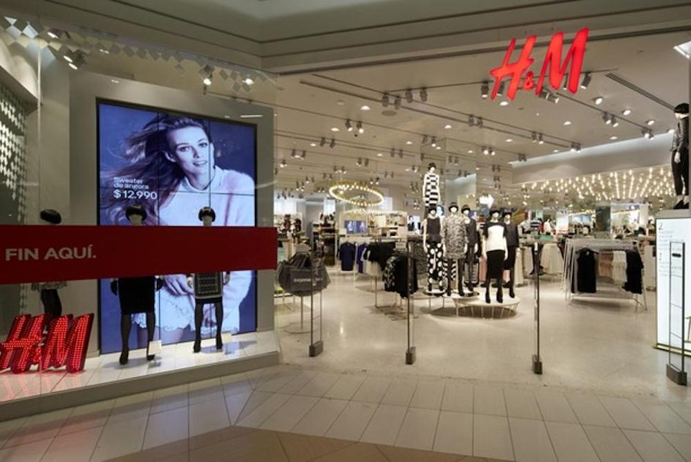 H&M Is Reinventing Its Store Layout To Invigorate Brick-And-Mortar Sales