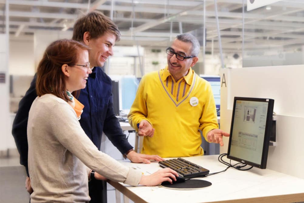 IKEA 'Planning Studio' Provides Shoppers With Expert Advice And Consultations