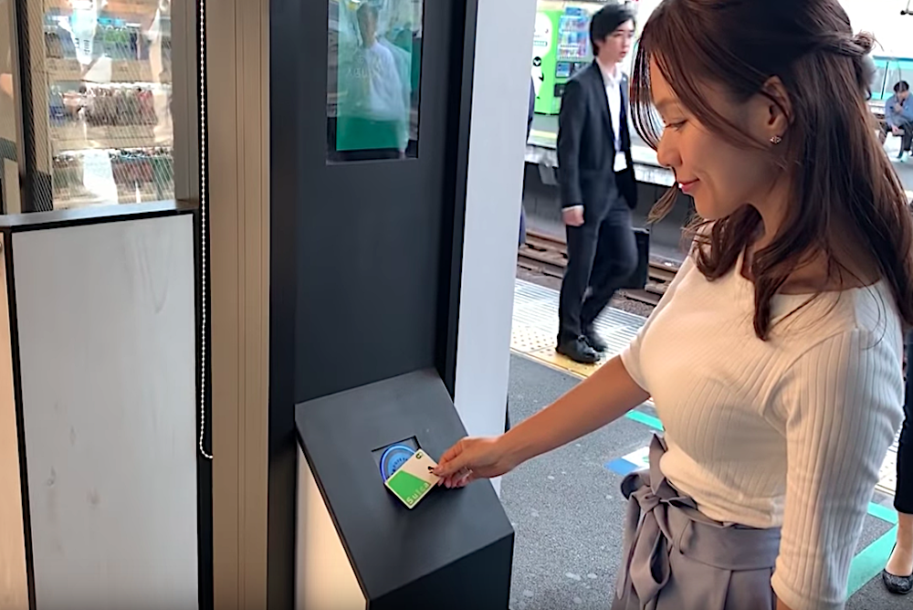 Commuters Can Grab Snacks On The Go At Cashierless Kiosks