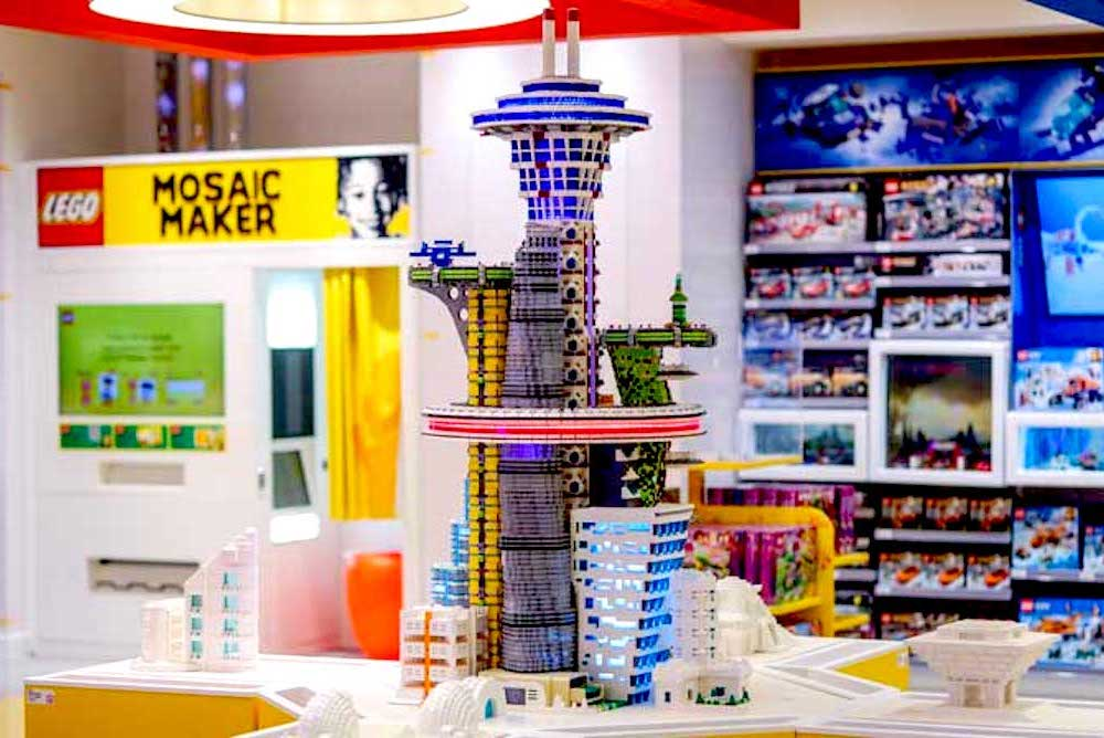 Lego's Flagship Store Encourages Kids' Creativity With Interactive Facility