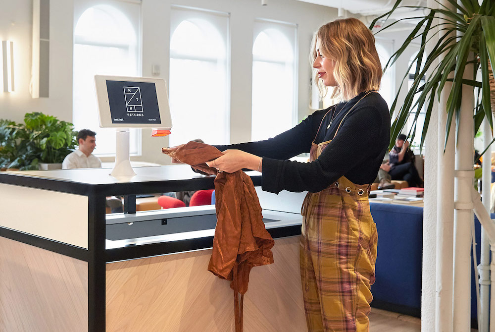 Rent The Runway Lets Members Return Wares At WeWork Drop-Off Boxes