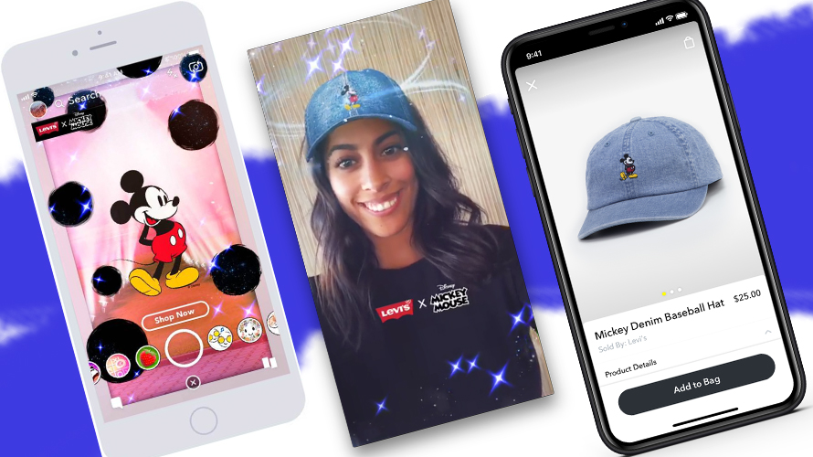 Levi's Offers Exclusive Merchandise To Snapchatters Who Shop Its Disney Store
