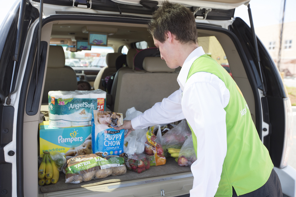 Walmart's Pickup-Only Store Loads Orders Directly Into Shoppers' Vehicles