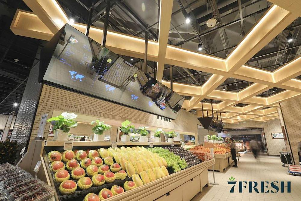 Chinese Ecomm Giant Opens Digital-First Grocery Storefront