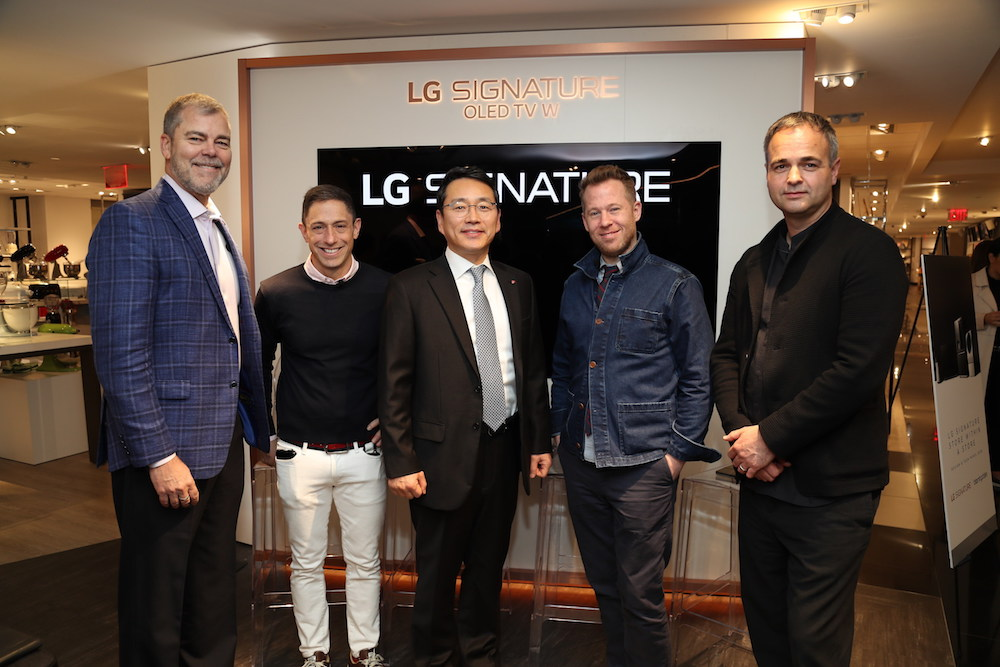 Bloomingdale's Flagship Expands Home Department With LG Signature Technology