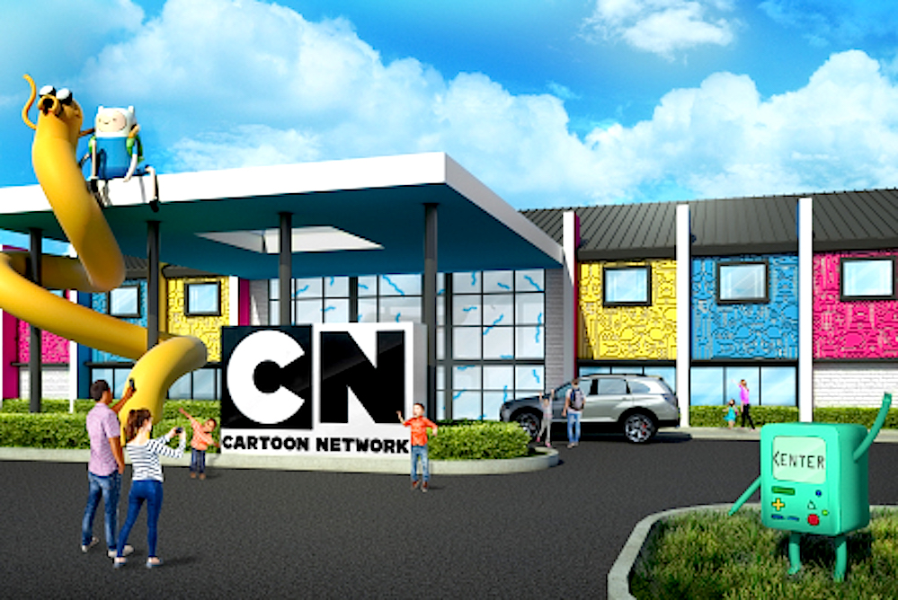 Cartoon Network Brings Its Shows To Life With Themed Hotel