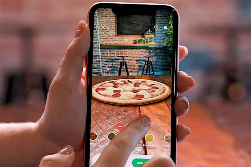 Customers Can Build And Order Their Domino's Pizza Order In AR