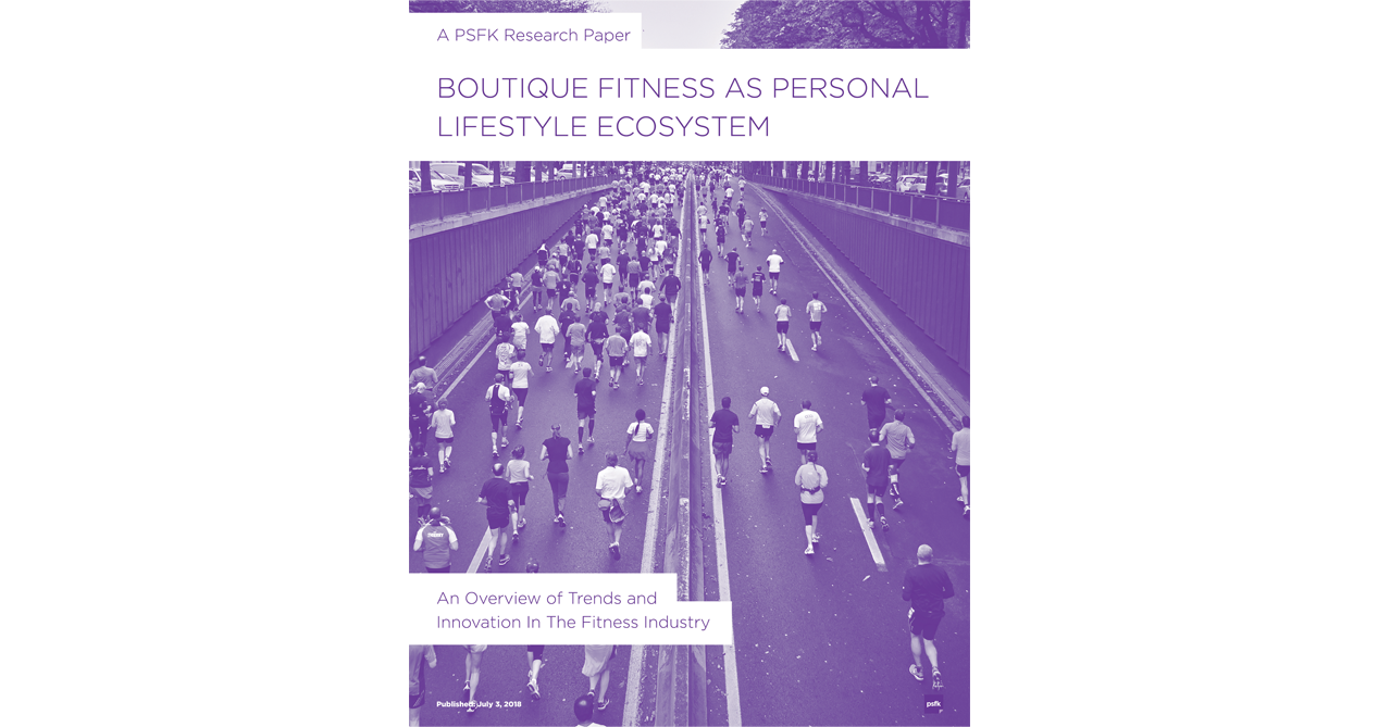 Boutique Fitness As Personal Lifestyle Ecosystem