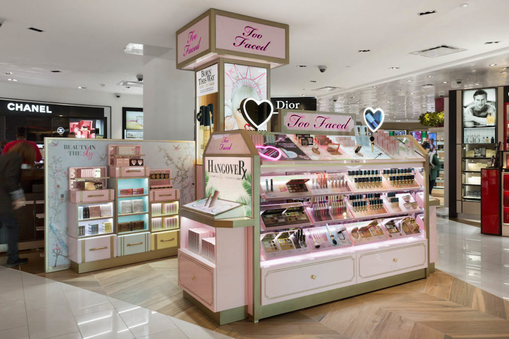 Estee Lauder Targets Airport Shoppers With Too Faced Cosmetics Counter