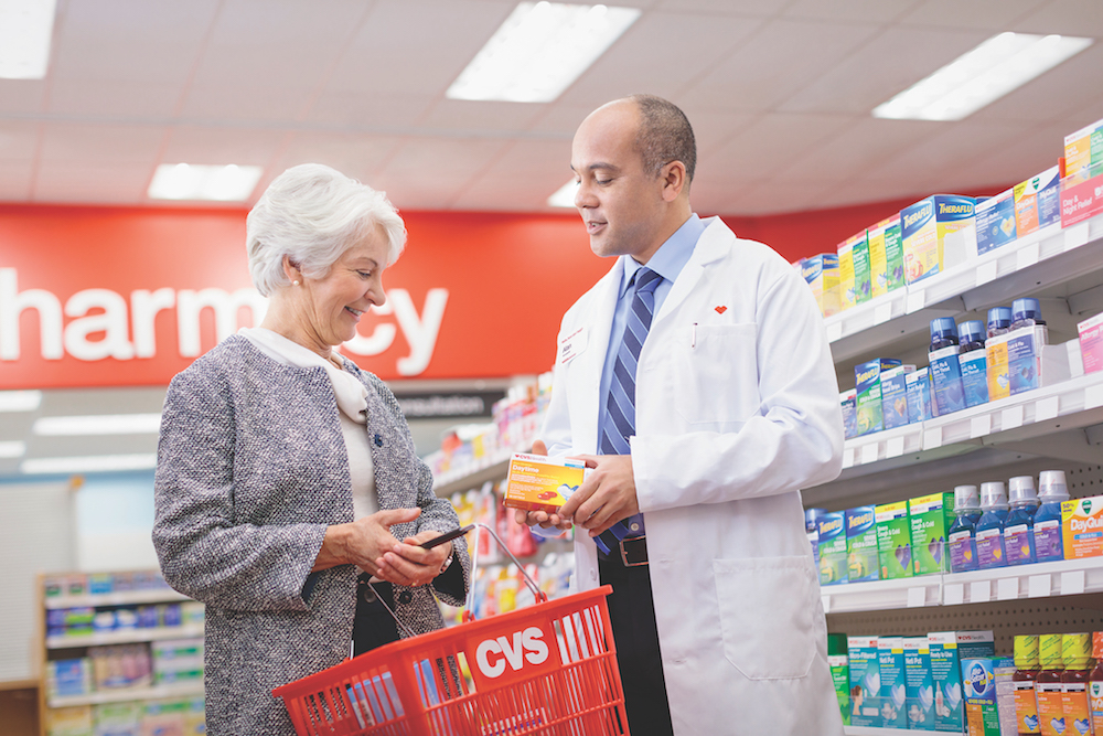 CVS Loyalty Program Offers Members On-Call Pharmacists And Product Discounts