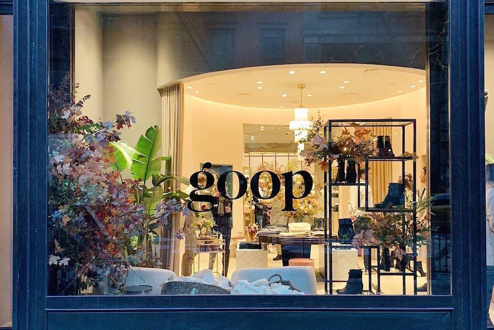 Goop's Permanent New York Store Offers Shoppers Wellness Events And Google Products