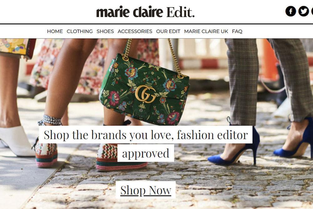 Marie Claire Offers Shoppers Content-Driven Ecommerce Platform