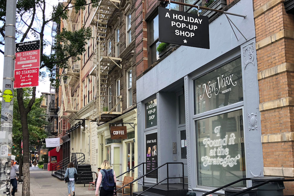 New York Magazine Offers Holiday Shoppers An IRL Popup
