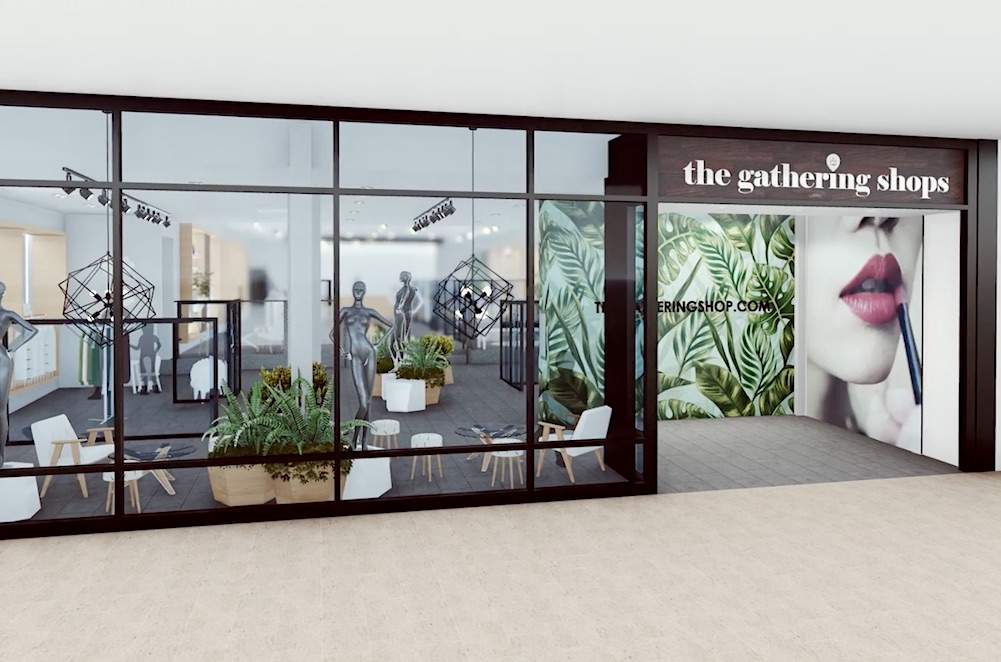 Mall Offers Shoppers Collaborative Popup Concept Featuring Emerging DTC Brands