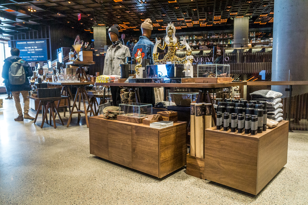 Starbucks Reserve S New York Roastery Offers Visitors Immersive Discovery And