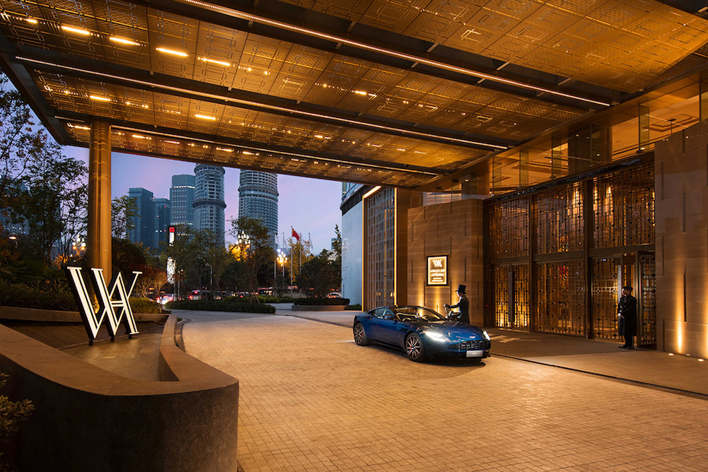 Aston Martin And Waldorf Astoria Offers Guests Luxury Car And Hospitality Experiences