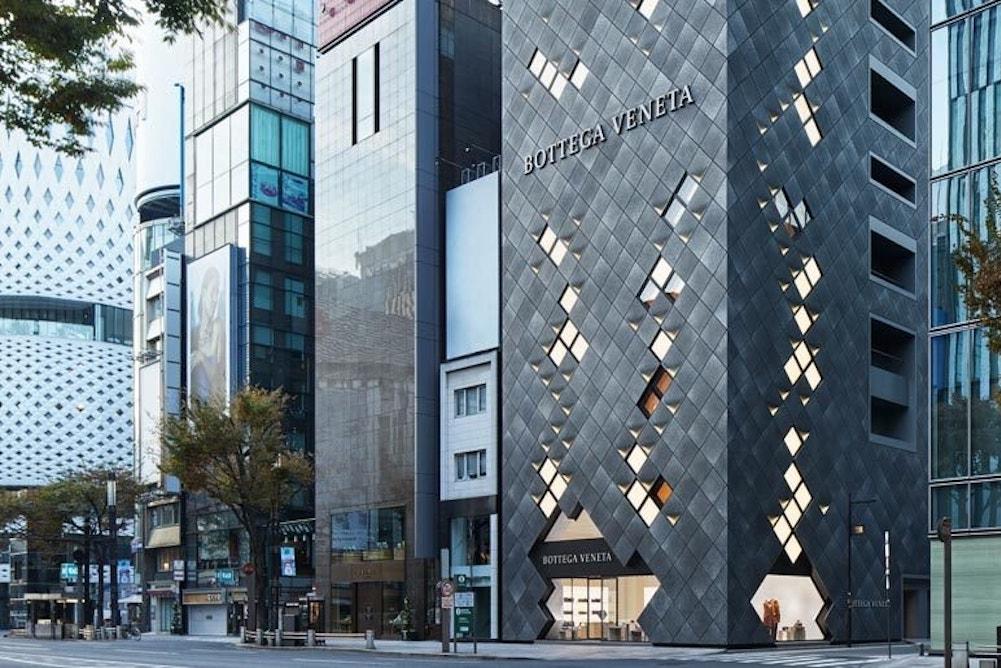 Bottega Veneta's Tokyo Flagship Merges Italian Heritage With Local Style