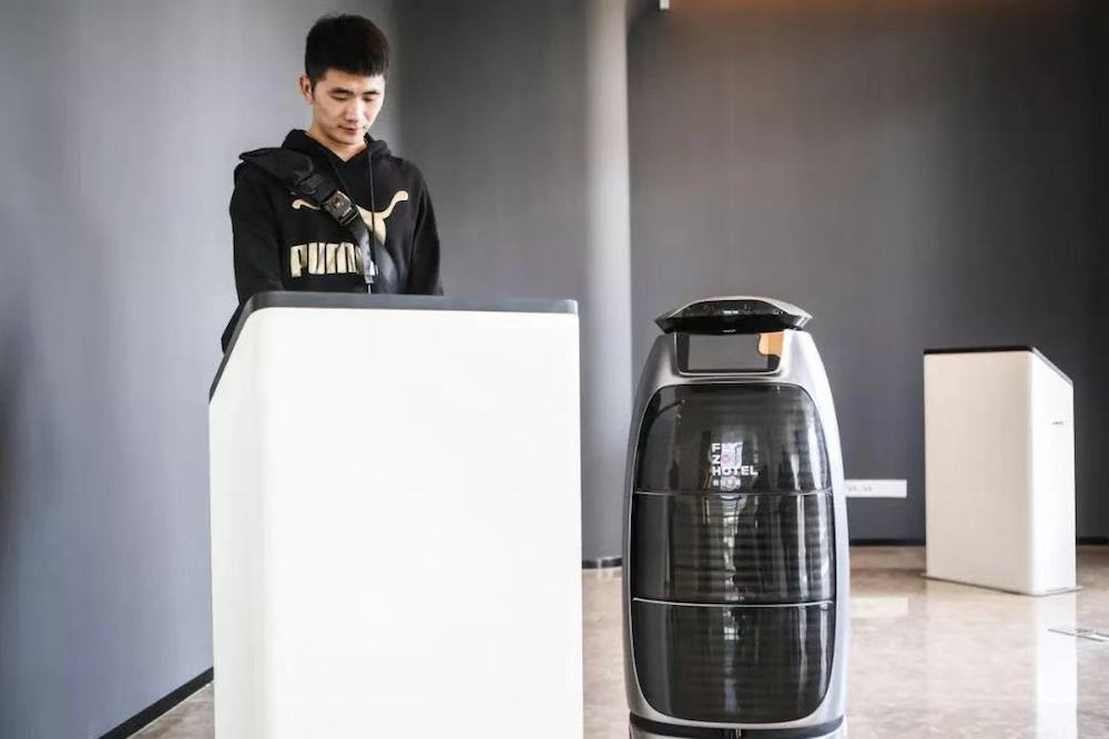 Alibaba's 'Future Hotel' Provides Robot Assistants To Accommodate Guests
