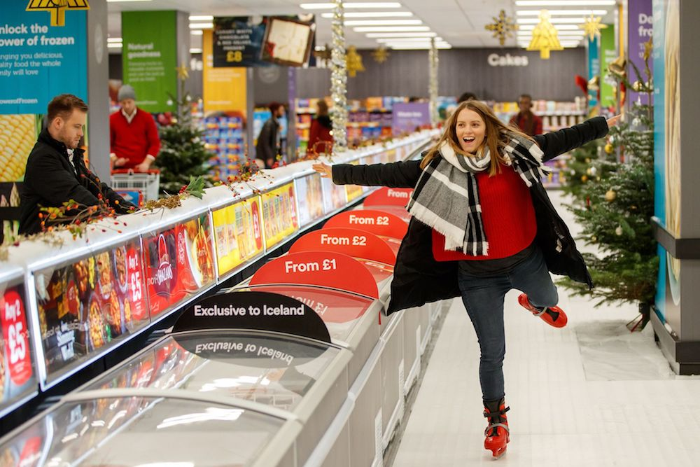 U.K. Supermarket Customers Can Skate And Shop At In-Store Ice Rink
