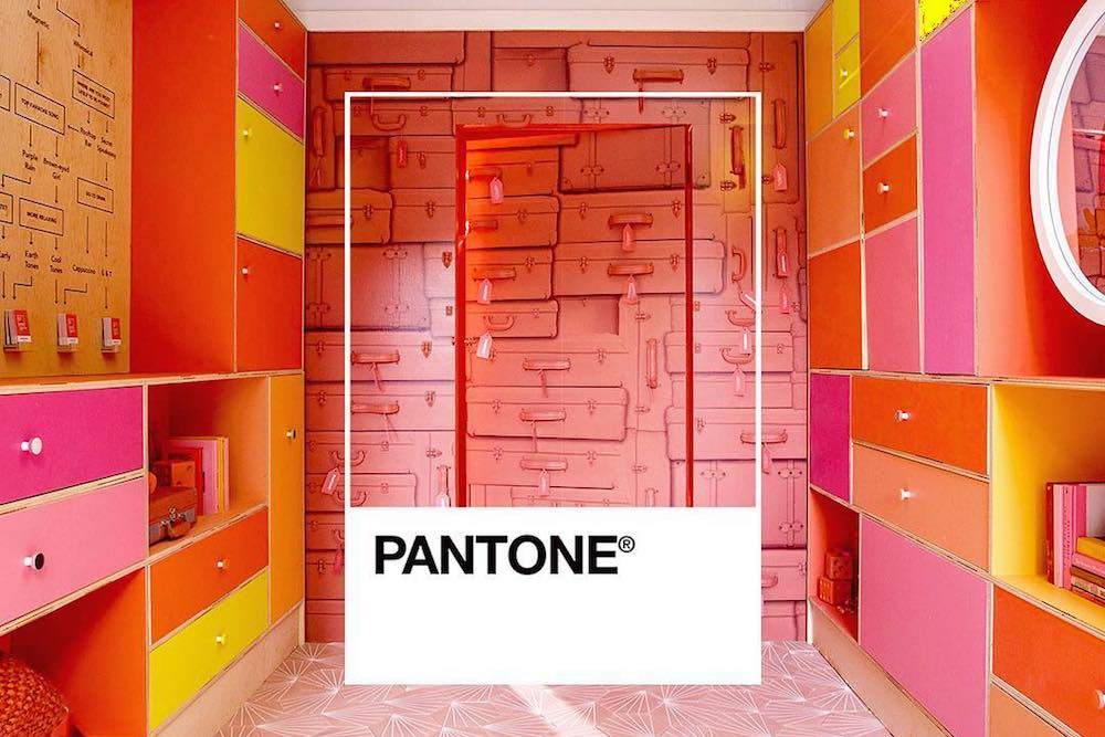 Hotel Guests Can Visit Pantone's Pantry To Immerse Themselves In Living Coral