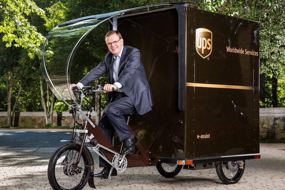 UPS Tests Delivery Tricycles To Get City Dwellers Their Packages Faster