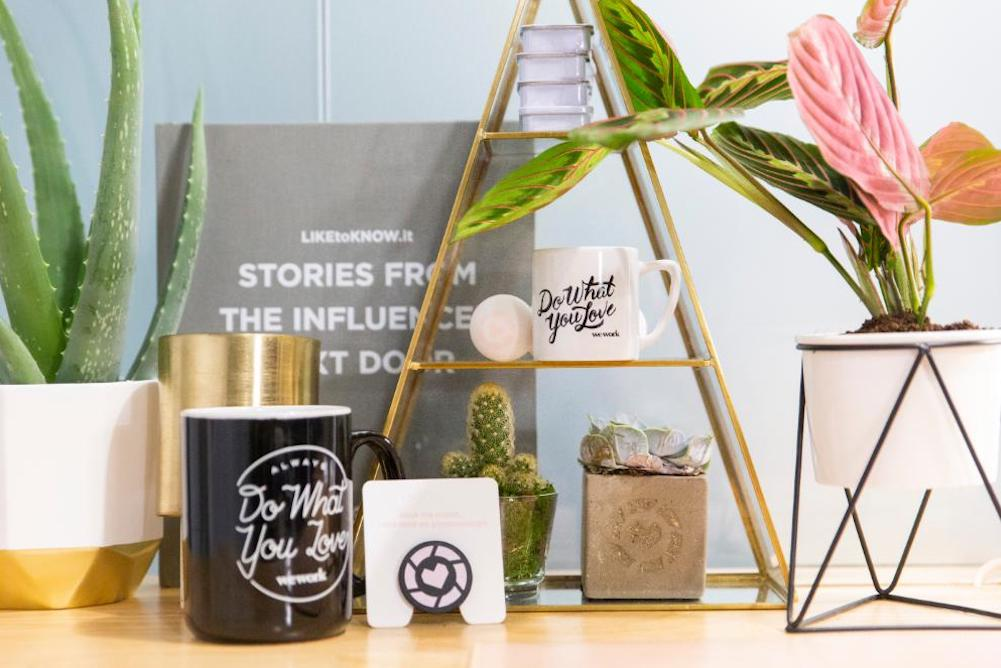WeWork London Office Invites Visitors To Shop Its Furnishings