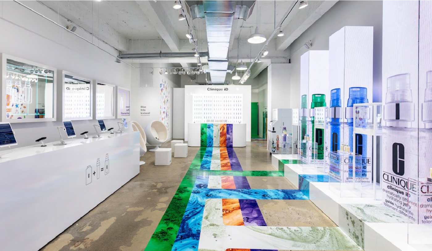 Clinique's First-Ever Popup Invites Visitors To Discover