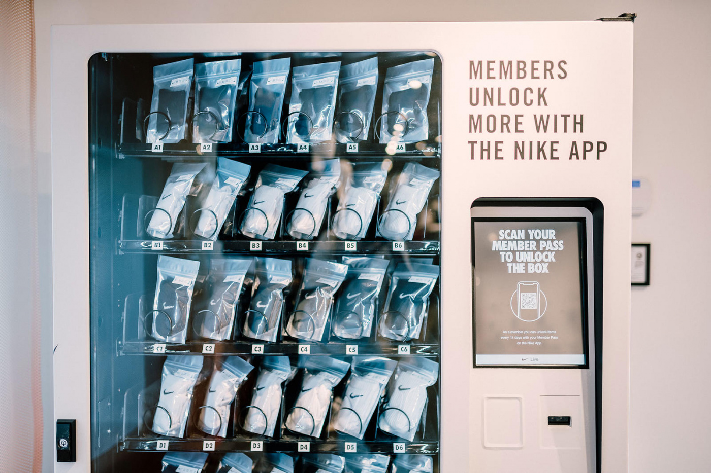 Nike Debuts SNKRS Popup Featuring App-Only Merch Access