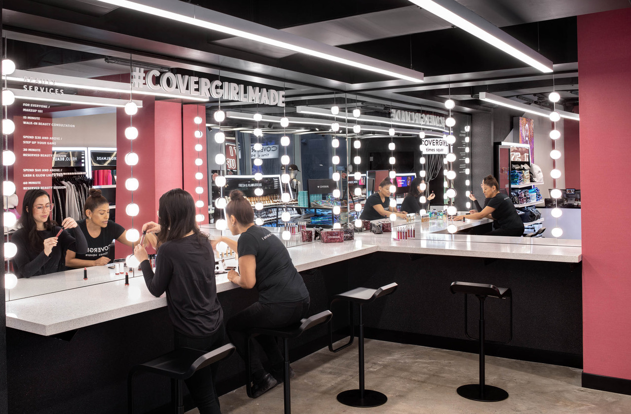 Covergirl Reinvents The Beauty Retail Experience With Times Square
