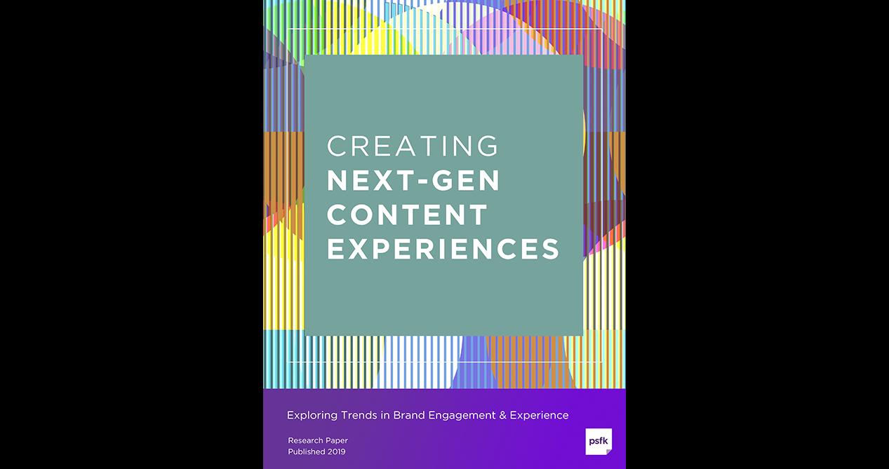 Creating Next-Gen Content Experiences