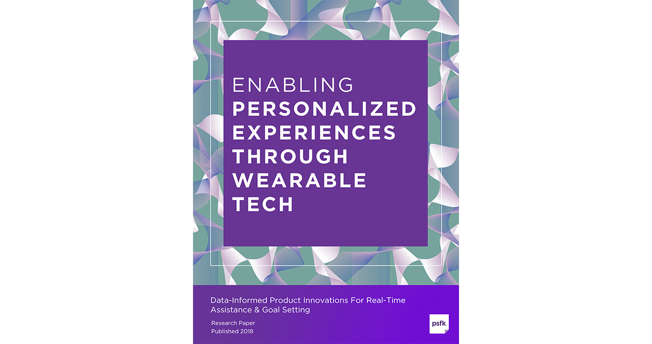 Enabling Personalized Experiences Through Wearable Tech