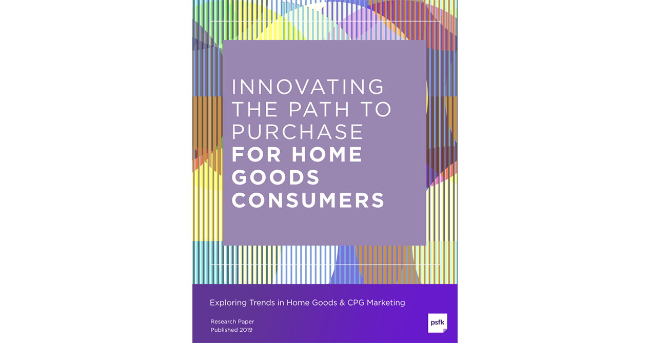 Innovating The Path To Purchase For Home Goods Consumers Report