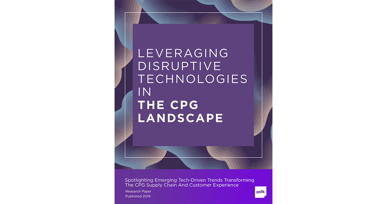 Leveraging Disruptive Technologies In The CPG Landscape