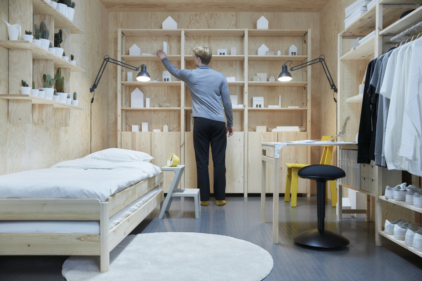 Ikea says shared spaces are the future of sustainable work for Ufficio design ikea