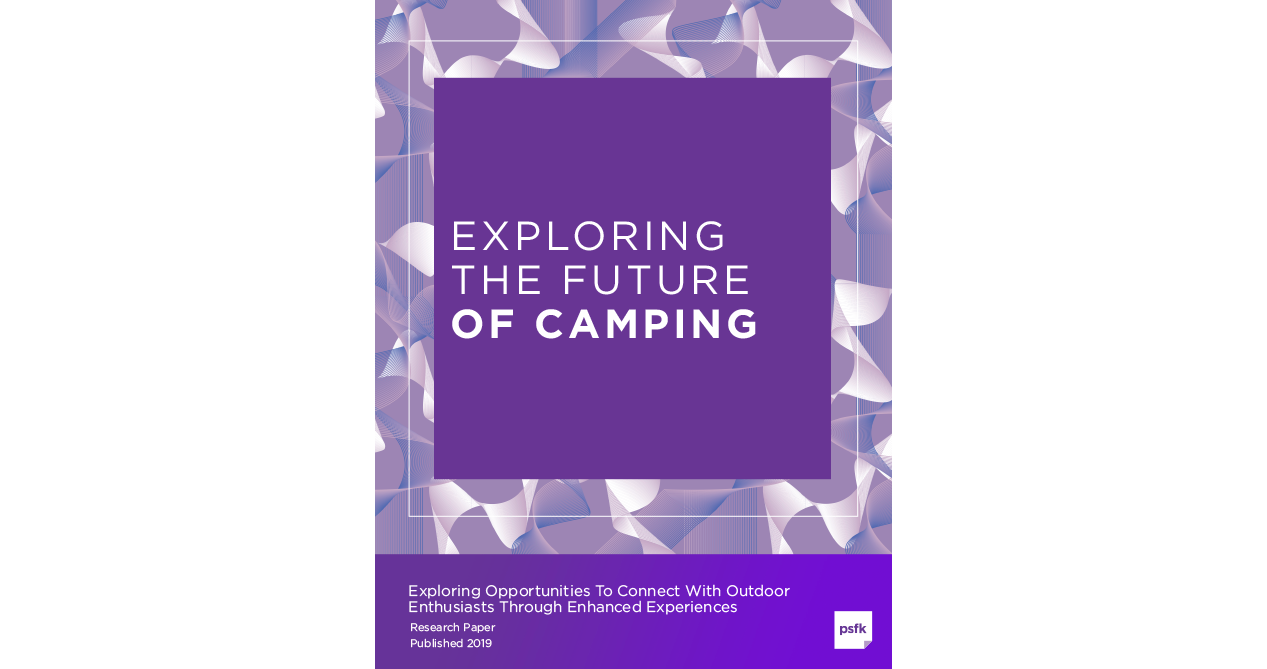 Exploring The Future Of Camping