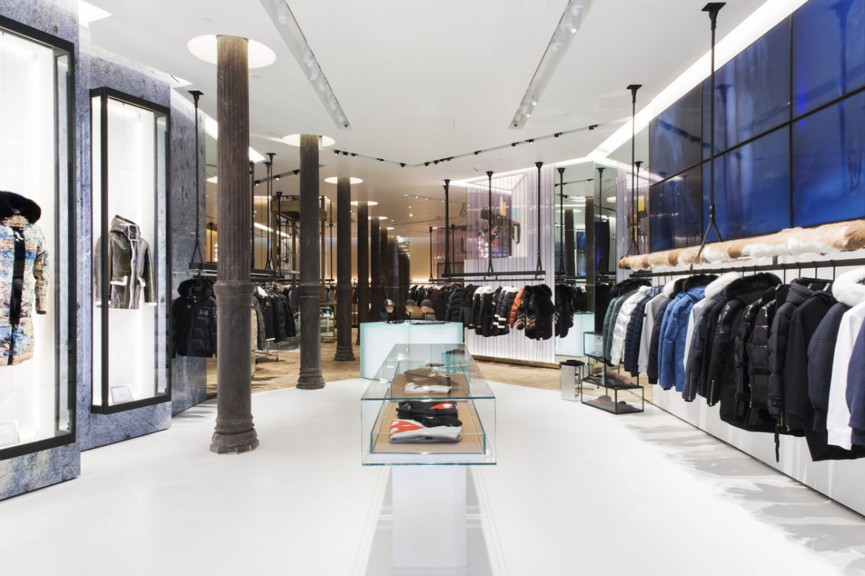 Inside Moose Knuckles New Soho's Concept Shop
