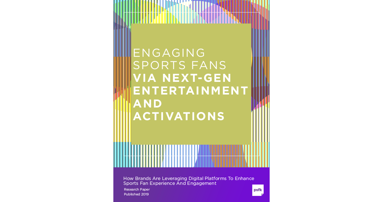 Engaging Sports Fans Via Next-Gen Entertainment And Activations